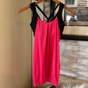 Lululemon Top with Strappy sports bra